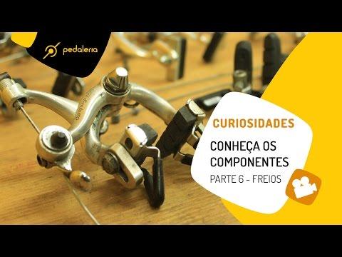 Pedaleria - Conheça os componentes - Freios
