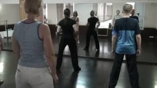 Уроки сальсы. Salsa lessons. Reggaeton разминка