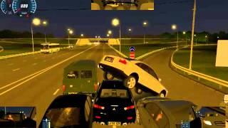 Let´s Play City car driving 1.2.2 pisteando como un campion