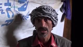وكالة قاسيون  نازحين يشكون سوء معيشتهم ومرض أطفالهم بريف حمص الشمالي 7-12-2015