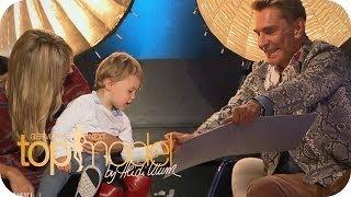 Nancy nimmt ihren Sohn mit zum Casting   Germany's next Topmodel 2014   ProSieben