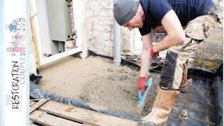 Gambar cover Concrete Slab for the DIY Porch Build