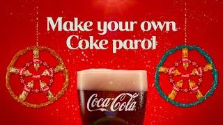 Create your own COKE Christmas Parol!
