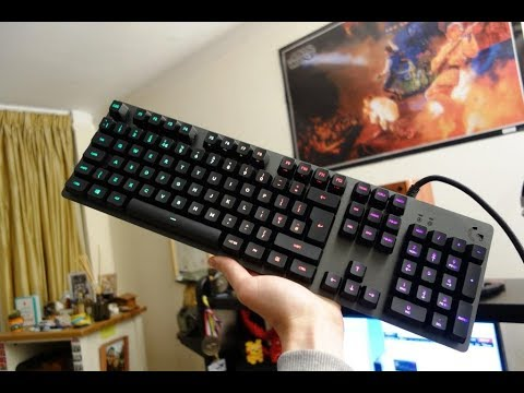 3158c9cde0c Logitech G513 review - RGB mechanical gaming keyboard - By TotallydubbedHD