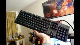 Logitech G513 review - RGB mechanical gaming keyboard - By TotallydubbedHD