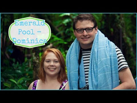 Vlogmas Day 10: CRUISE DAY 6:  Emerald Pool - Dominica | Brittany and Alex