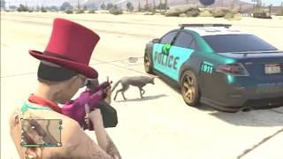 GTAV Animal Hunting ONLINE & Complete Destruction [720p] (1.15 update) Grand Theft Auto 5