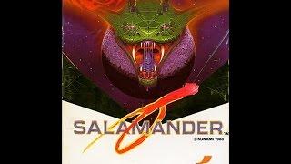 Salamander | MSX1 | SCC | RC-758 | MSX 1 & MSX 2 Konami Games