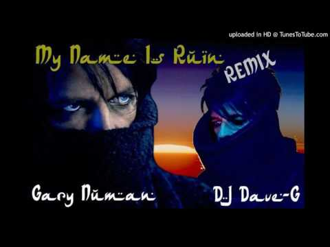 Gary Numan - My name is ruin (DJ DaveG Extended mix)