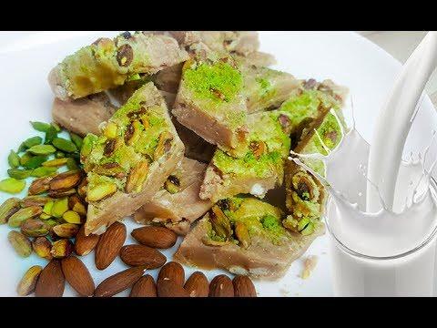 Shir Pera Fresh Milk | شیر پیره شیر تازه | Khoya Burfi