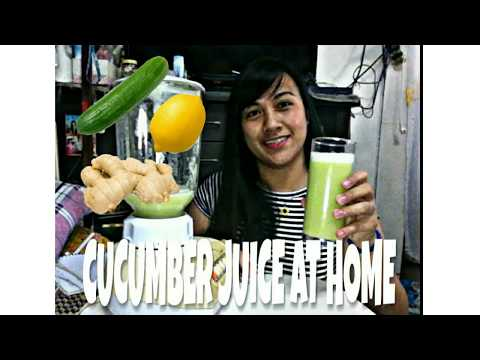 FAST EASY WEIGHT LOSS (Cucumber juice at home)