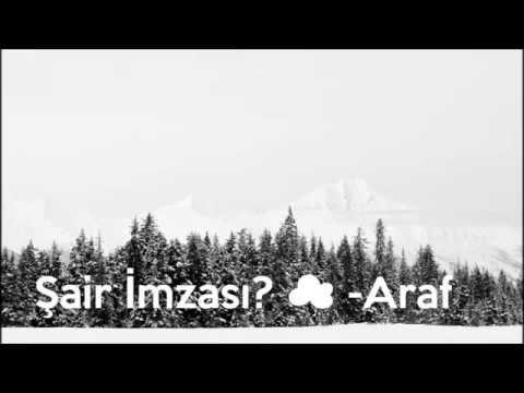 Şair İmzası ☁ -Araf