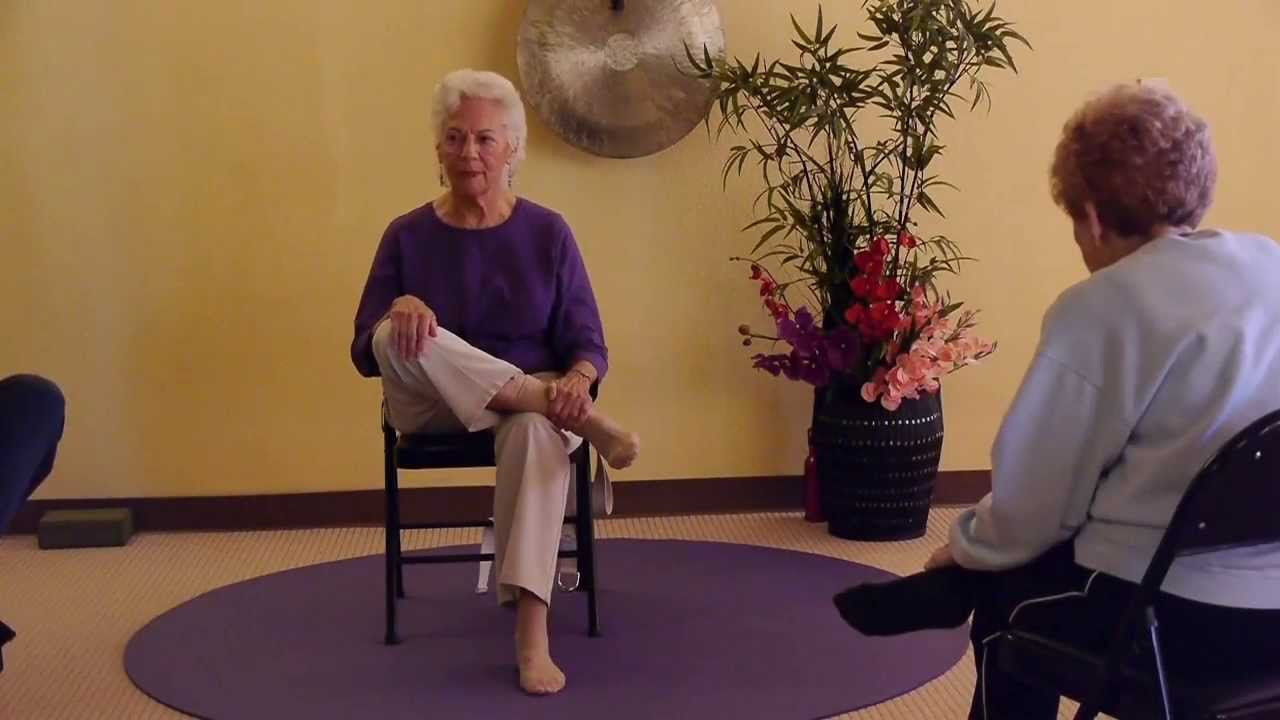 Chair yoga for seniors - Senior Chair Yoga Dvd Designed Specifically For Senior Citizens By 80 Yrs Young Paula Montalvo Ryt Youtube