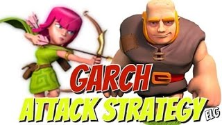 Clash of Clans | Giant And Archers Attack Strategy Gameplay |