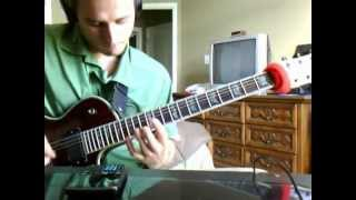 Dillinger Escape Plan - Crossburner guitar cover
