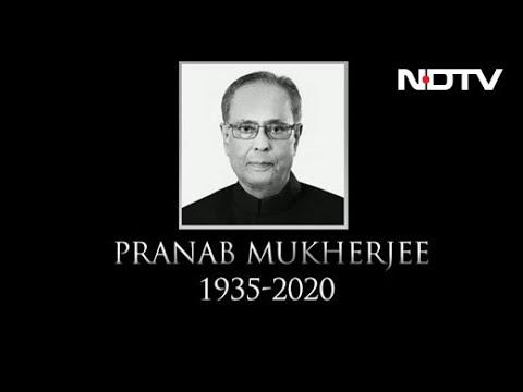 Former President of India, Pranab Mukherjee, Dies at 84