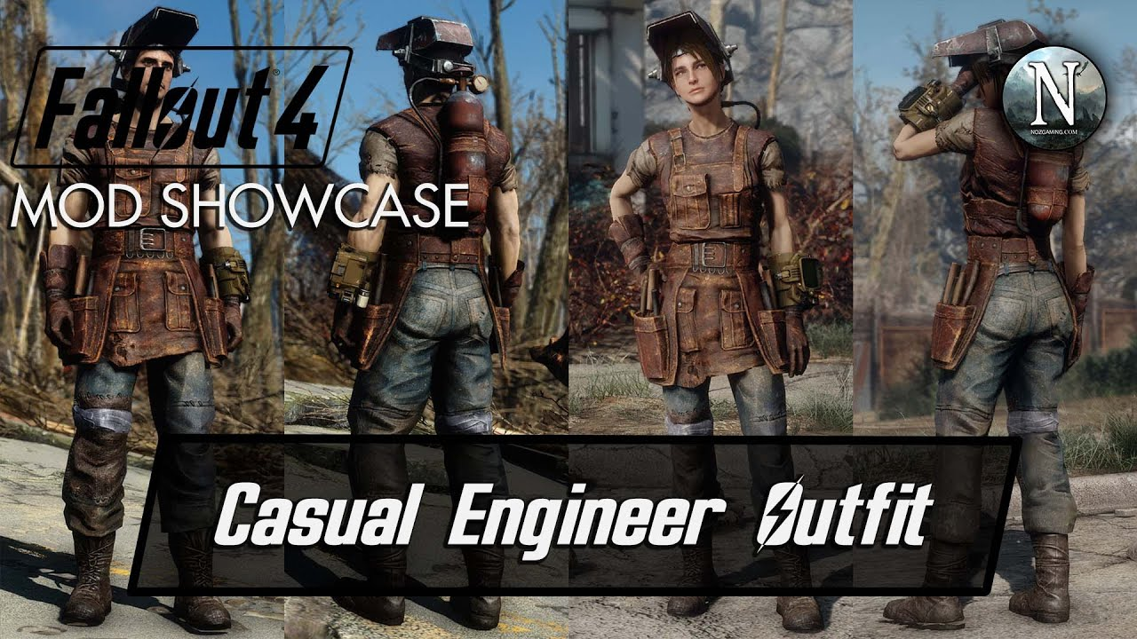 Classy Outfits Fallout 4 Mod - Year of Clean Water