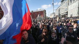 Совместные акции российских групп протеста