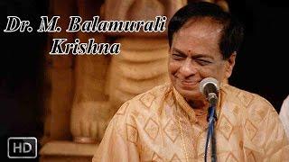 Classical Vocal - Gems Of Thyagaraja - Bajana Seyave - Dr. M. Balamurali Krishna