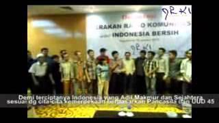 Deklarasi Gerakan Radio Komunitas untuk Indonesia Bersih (GRKIB)
