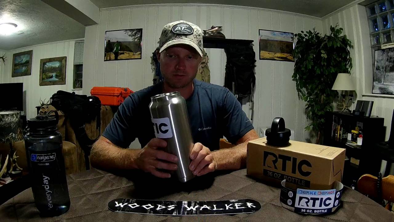 Rtic 36 Oz Bottle Youtube