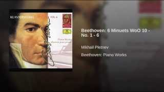 Beethoven: 6 Minuets WoO 10 - No. 1 - 6