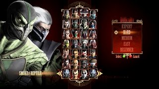 Mortal Kombat 9 (2011) - Tag Ladder Playthrough (PC)