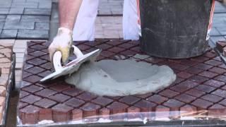 Раствор для покрытия из брусчатки и натурального камня PFN (Quick-Mix)