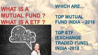 Best Mutual Fund Schemes to invest in 2018 | Top ETF for 2018