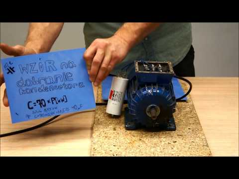 How to connect three phase motor to single phase ! Tutorial DIY