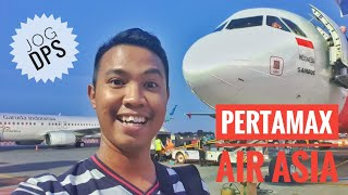 Pengalaman PERTAMAX..!! Flight Trip Air Asia Airbus A320 JOG-DPS