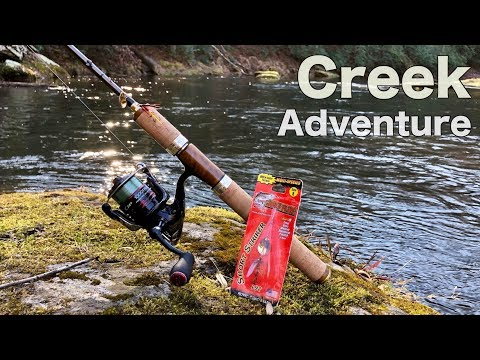 Trout Fishing with a LEGENDARY Lure!!! (Creek Fishing Adventure)