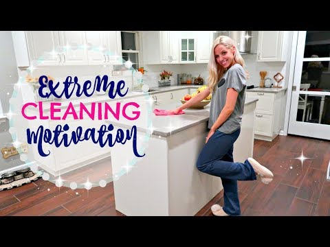 CLEAN WITH ME 2017 // GET UP AND CLEAN!! // CLEANING MOTIVATION!!!