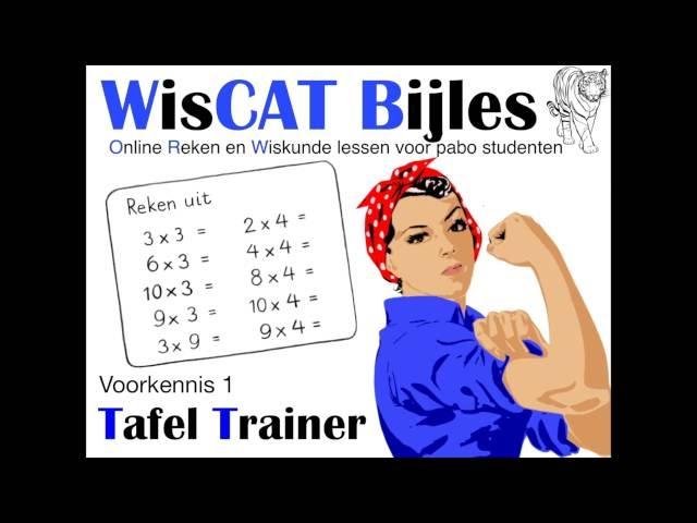 Tafel Trainer - WisCAT Werkboek: Voorkennis 1