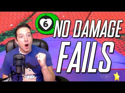 All of My No-Damage Speedrun Fails in Super Mario Odyssey
