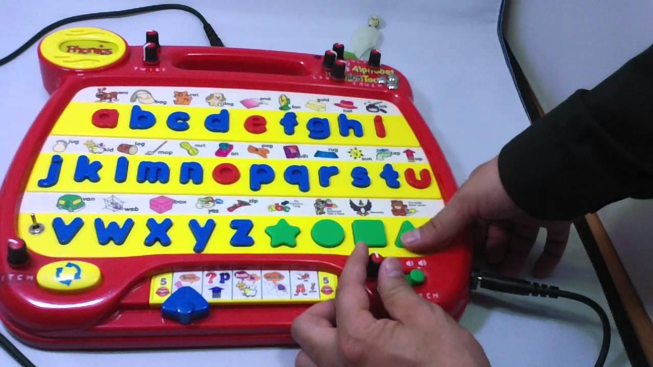 Circuit Bent Alphabet Desk Phonics Youtube