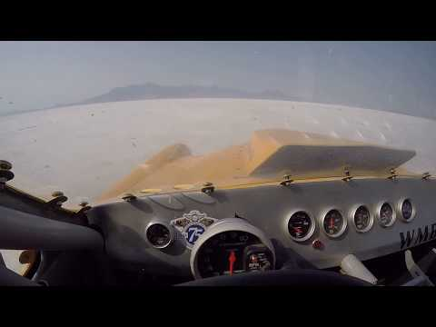 Bonneville Speed Week 2018  3 mile course #352 Studebaker