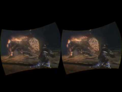 VR Experiencing PlayStation Experience Bloodborne thru Oculus Rift DK 2 & Virtual Desktop