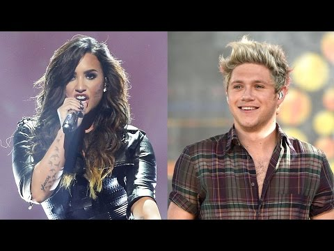 Niall Horan Supports Demi & Nick At Future Now Show