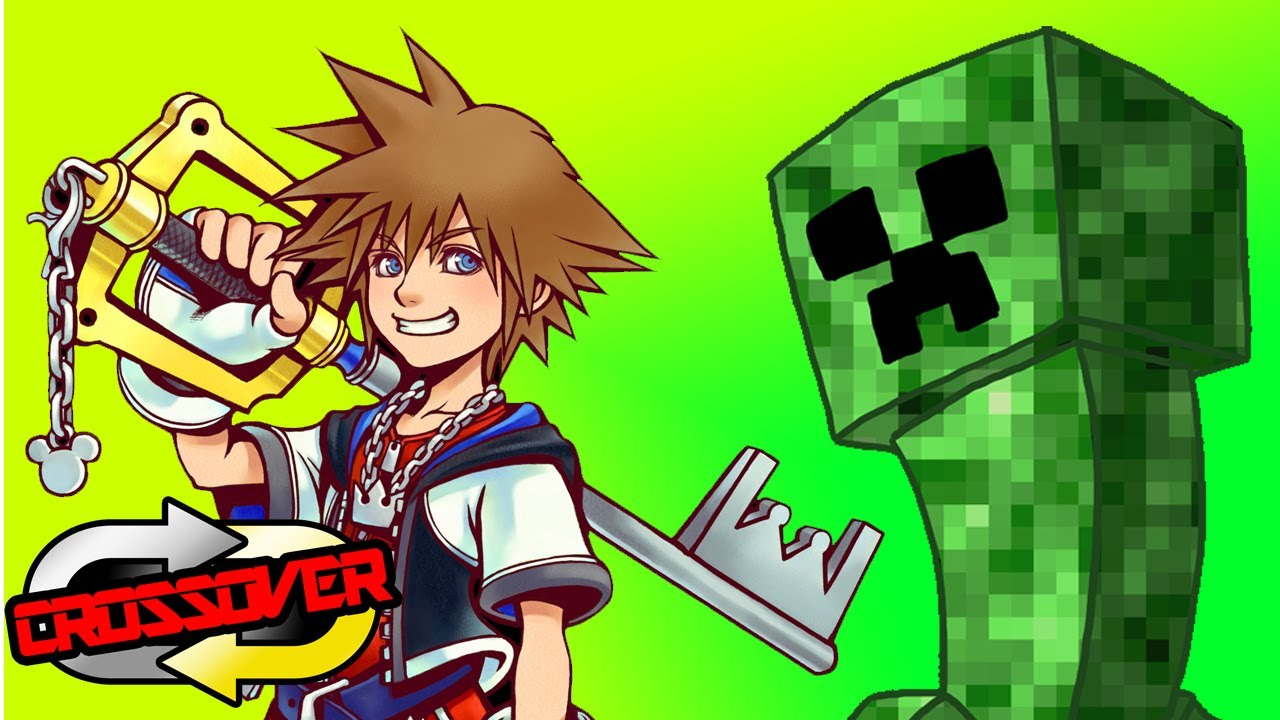 sora to steve connecting minecraft to kingdom hearts crossover