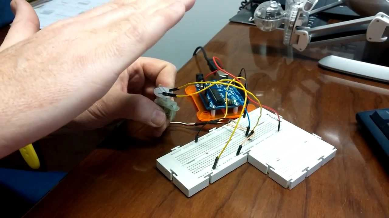 Example Control System with Arduino and Simulink