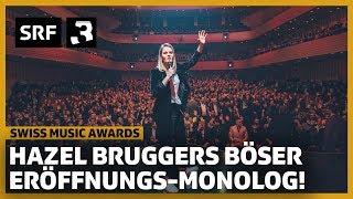 Hazel Bruggers bitterböser Opening-Monolog | Swiss Music Awards 2020