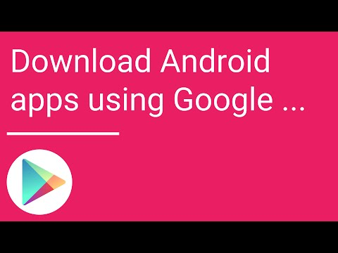 Download Android apps using Google Play on your computer