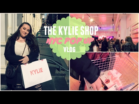 I WENT TO KYLIE JENNER'S POP UP SHOP IN NYC! | Meaghan Dowling