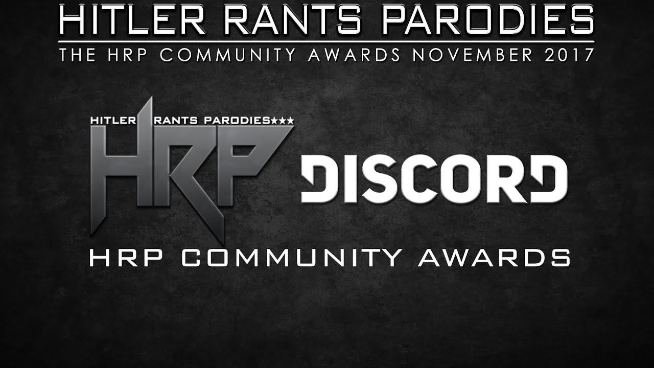HRP Community Awards (November 2017)