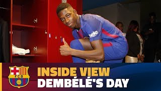 [BEHIND THE SCENES] 24 hours with Ousmane Dembélé