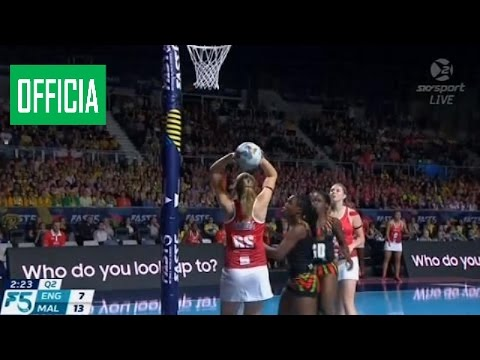 England vs. Malawi - Fast5 Netball 3rd/4th Playoff (Melbourne 2016) ba