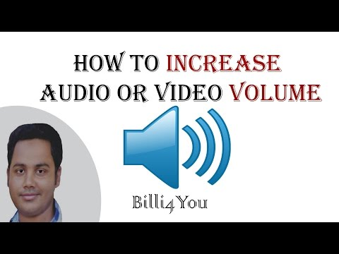 Volume Booster - How to Increase Audio or Video Volume - CyberLink PowerDirector 12 - Tutorial