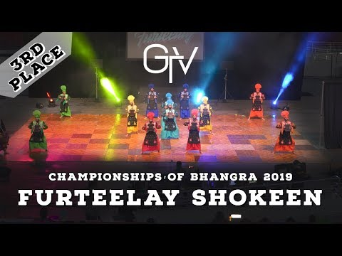 Furteelay Shokeen – Third Place – Championships of Bhangra 2019