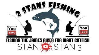 James River Catfishing in Winter weather in VA